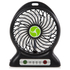 iTek I40001 Rechargeable 4 Inch Desk Fan - Black: Image 1