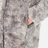Karl Lagerfeld Women's Soft Curly Faux Fur Coat - Grey: Image 6
