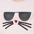 Karl Lagerfeld Women's Kocktail Choupette Sweatshirt - Rose Smoke: Image 5