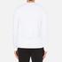 Michael Kors Men's Long Sleeve Sleek MK Crew Top - White: Image 3