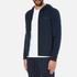 Michael Kors Men's Stretch Sweat Full Zip Hoody - Midnight: Image 2