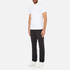 Michael Kors Men's Sleek Mk Polo Shirt - White: Image 4