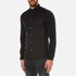 Michael Kors Men's Slim Long Sleeve Shirt - Black: Image 2