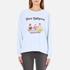 Wildfox Women's Diet Dropout Kims Sweatshirt - Blue Tears: Image 1