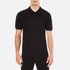 Versace Collection Men's Shoulder Detail Polo Shirt - Nero: Image 1