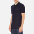 Versace Collection Men's Collar Detail Polo Shirt - Navy: Image 2