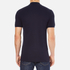 Versace Collection Men's Collar Detail Polo Shirt - Navy: Image 3