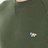 Maison Kitsuné Men's Tricolor Patch Sweatshirt - Khaki: Image 5