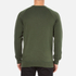 Maison Kitsuné Men's Tricolor Patch Sweatshirt - Khaki: Image 3