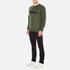 Maison Kitsuné Men's Parisien Sweatshirt - Khaki: Image 4
