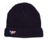 Maison Kitsuné Men's Ribbed Beanie Hat - Navy: Image 1