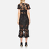 Three Floor Women's Floral Feeling Dress - Black: Image 3