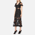 Three Floor Women's Floral Feeling Dress - Black: Image 2