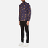 PS by Paul Smith Men's Printed Long Sleeve Shirt - Navy: Image 4