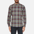 PS by Paul Smith Men's Checked Long Sleeve Shirt - Navy: Image 1