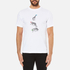 PS by Paul Smith Men's Crew Neck Short Sleeve Animal Logo T-Shirt - White: Image 1
