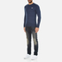 Superdry Men's Orange Label Crew Jumper - Dull Navy: Image 4