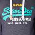 Superdry Men's Vintage Logo New Hoody - Grape Juice Jaspe: Image 6