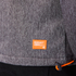 Superdry Men's Windtrekker Coat - Dark Grey Grit/Fluro Orange: Image 7
