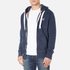 Superdry Men's Orange Label Zip Hoody - Nautical Navy Grit: Image 2