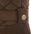 Barbour Women's Holford Waxy Suede Quilted Knee Boots - Brown: Image 7