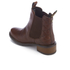 Barbour Women's Latimer Leather Chelsea Boots - Chestnut: Image 4