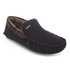 Barbour Men's Monty Suede Moccasin Slippers - Navy: Image 2