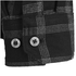 Jack Wolfskin Men's Glacier Shirt - Black Check: Image 4