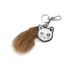 Karl Lagerfeld Women's Fur Tail Keychain - Brown: Image 1