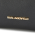 Karl Lagerfeld Women's K/Klassik Drawstring Bag - Black: Image 4