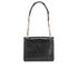 Karl Lagerfeld Women's K/Reptile Mini Handbag - Black: Image 8
