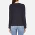 Levi's Women's Classic Crew Sweatshirt - Nightwatch Blue: Image 3