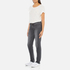 Levi's Women's 712 Slim Straight Fit Jeans - Burnt Ash: Image 4