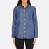Levi's Women's Sidney 1 Pocket Boyfriend Shirt - Ocean Blue: Image 1