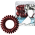 Invisibobble Hair Tie Burgundy Dream 3 Pack (Free Gift): Image 1