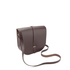 The Cambridge Satchel Company Women's Large Saddle Bag - Damson: Image 3