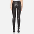 Helmut Lang Women's Stretch Leather Pants - Black: Image 3