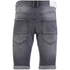 Crosshatch Men's Skylo Denim Shorts - Grey Wash: Image 2