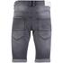 Crosshatch Men's Skylo Denim Shorts - Grey Wash: Image 2