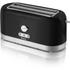 Swan ST10090BLKN 4 Slice Longslot Toaster - Black: Image 1
