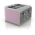Swan ST17010PN 4 Slice Retro Toaster - Pink: Image 1