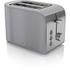 Swan ST17020GRN 2 Slice Retro Toaster - Grey: Image 1