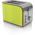 Swan ST17020LN 2 Slice Retro Toaster - Lime: Image 1