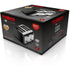 Tower T20008 4 Slice Linear Toaster - Black: Image 6