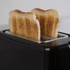 Tower T20009 2 Slice Toaster - Black: Image 2
