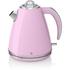 Swan SK24030PN 1.5L Jug Kettle - Pink: Image 1