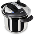 Tower One Touch Pressure Cooker 6L - Stainless Steel: Image 1
