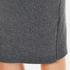 Paisie Women's Ribbed Midi Skirt - Marl Grey: Image 6