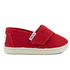 TOMS Toddlers' Seasonal Classics Slip-On Pumps - Red: Image 1