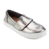 TOMS Women's Altair Leather Slip-On Trainers - Gunmetal: Image 2